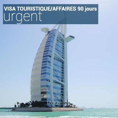 Visa touristique/affaires 90 jours urgent