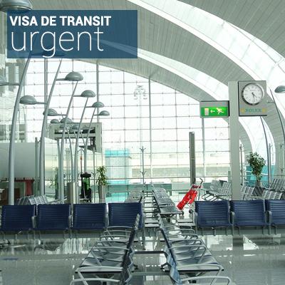 Visa de transit sous 1 à 2 jours