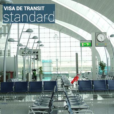 Visas de transit sous 3 à 6 jours